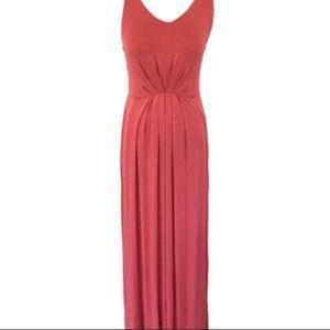 Cynthia Rowley Pink Sleeveless Maxi Dress
